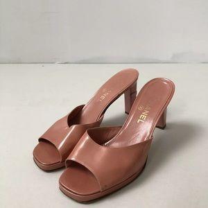 CHANEL Mules/ Slides Kitten Heel